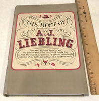 THE MOST OF A.J. LIEBLING 1963 Hardcover Book HC w/ Dust Jacket First Printing