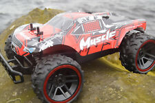 2.4GHZ OFF ROAD MUSCLE MONSTER TRUCK RADIO REMOTE CONTROL CAR HIGH SPEED 20KM/H