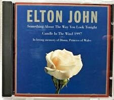 Something About the Way You Look Tonight by Elton John (CD) LN. Tested Perfect!