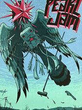 Pearl Jam - 2010 Jeff Soto poster Arras, France, Town Square