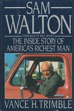 Sam Walton Inside Story 1990 Early Bio Wal-Mart Vance Trimble Photos 1st ed