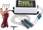 B15 Air Pump Marine Live Fish Bait Aerator System Metal Power Bubble Box 12V New