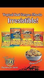 Tropical Heat Premium Kenyan Chevda All Flavours 6x340g