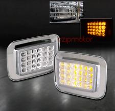 03-09 HUMMER H2 SUT LED FRONT SIDE CORNER SIGNAL LIGHT LAMP SPORT 04 05 06 07 08