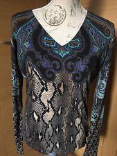 ETRO Ladies Multicoloured Knitted Jumper Silk/cashmere Size 48. BNWT.