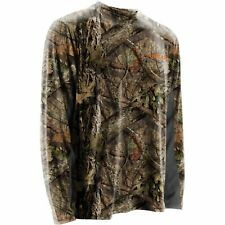 New NOMAD OUTDOORS Youth LS COOLING TEE Mossy Oak Break-Up Camo SHIRT YXL $40