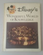 Disney's Wonderful World of Knowledge #18 1973 HB Book