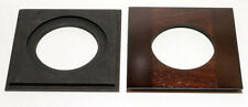"1 LENS BOARD 4.5""Sq. for Eastman 2D 5x7"" made of JATOBA wood, for Copal #3 hole"