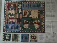 "Fabric to make Christmas Wall Quilt or project ""Starlight Angels""Leslie Beck VIP"