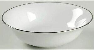 "Royal Doulton ""SIMPLY PLATINUM"" Cereal Bowl(s) - 16.5 cm diameter - LIKE NEW"