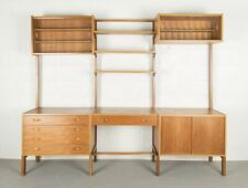 Danish wall unit made by PS System Vintage 1960'S modular Mid Century Ladderax