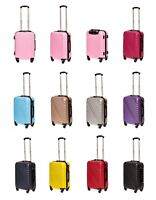 Cabin Hand Luggage Suitcase Ryanair 4 Wheeled ABS (826 )Travel Case Bag easyjet