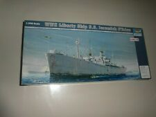 "Maquette Trumpeter ""Liberty Ship S.S Jeremiah O'Brien 1/350"