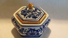 Blue Bowls Art Deco Date-Lined Ceramics