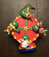 ORNAMENT SANTA AND COMPANY FERRIS WHEEL AVON GIFT COLLECTION