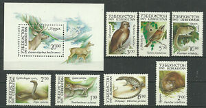 Uzbekistan 1993 year mint stamps MNH (**)