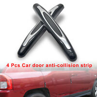 1 Set Car Door Edge Guard Strip Decorate Anti-rub Protection Scratch Accessories