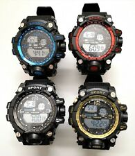 Reloj Digital SPORT - Cronometro - Calendario - Alarma - 5 BAR - 4 Colores