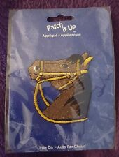 PATCH IT UP HORSE APPLIQUE IRON ON NEW NIP