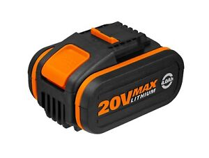 WORX Powershare™ 20V 4.0Ah MAX Lithium-ion Battery, w/ Battery Indicator