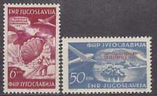 YUGOSLAVIA - 1951 COMPLETE AIR SET - FLUGPOST - Mi.: 666-667 - **MNH**