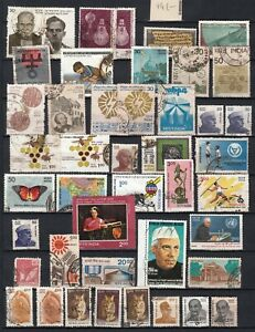 INDIA  1978 1990      lot of  44  stamps