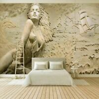Photo Wallpaper Wall Sticker Mural Art Wall Painting 3D Stereoscopic Relief