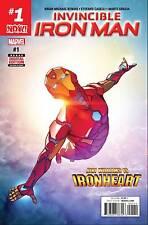 Invincible Iron Man #1 Riri Williams 1st Print Marvel Now 2016