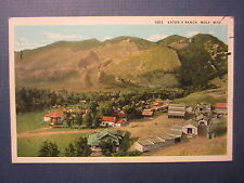 Old Vintage c.1920's - EATON'S RANCH - WOLF - WYOMING - POSTCARD