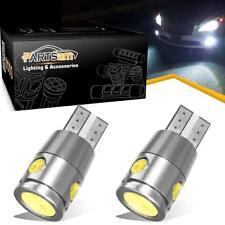 2pc T10 921 168 194 Error Free Canbus White LED Backup Reverse Wedge Light Bulbs