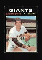 1971 Topps Gaylord Perry #140 Baseball Card - San Francisco Giants HOF