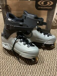 Salomon ST80 Aggressive Inline Skates Freestyle Rollerblades Men's Size 13 Nice