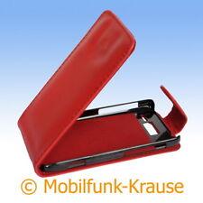 Flip Case Etui Handytasche Tasche Hülle f. Motorola RAZR i XT890 (Rot)