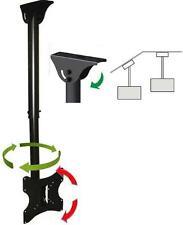 CEILING TV MOUNT BRACKET LCD LED PLASMA 24 26 30 32 36 37 40 TILT SWIVEL ROTATE