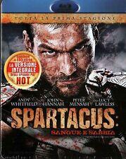 SPARTACUS STAGIONE 1 - COFANETTO 4 BLU RAY DISC NUOVO!