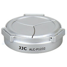 JJC Auto Open Lens Cap for Panasonic Lumix G Vario HD 12-32mm ASPH H-FS12032 SLV