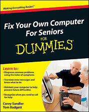 Fix Your Own Computer For Seniors For Dummies-ExLibrary