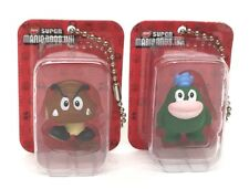 Super Mario Wii - Figures in a Blister - GABON + KURIBO (key chain) - New