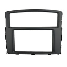Double Din Fascia for Mitsubishi Pajero Radio DVD GPS Stereo Dash Mount Trim Kit