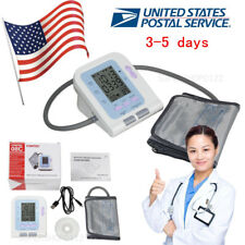 CONTEC Fully automatic upper arm digital LCD BP NIBP blood pressure monitor US