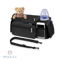 New Pulli Baby universal stroller organizer Black bag