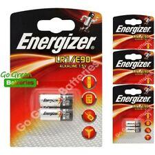 Piles jetables alcalins Energizer pour équipement audio et vidéo