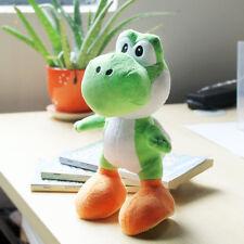 1XSuper Mario Bros Plush Toy Green Yoshi  Cute Stuffed Animal Dolls Cool