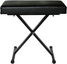 Audio2000'S Ast4373 Full-Size Quick Position Adjustment Keyboard Bench - Mr