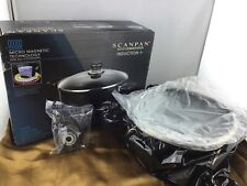 Scanpan Ceramic Titanium Induction + 4.2 Qt Covered Low Sauce Pot - NOB