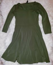 Forever 21 Green Dress Small Womans