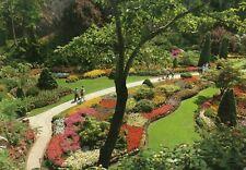 CANADA - The Butchart Gardens - Victoria B.C. - Real Photo Postcard (500M)