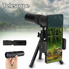 4K 10-300X30mm Super Telephoto Lens Zoom Monocular Telescope Portable Telescopic