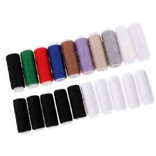 Fil de couture de polyester de 20Pcs pour des coutures en cuir de