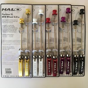 Halo Porkies XL MTB Quick release bike skewers in pairs